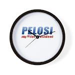 Pelosi for President Wall Clock