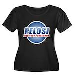 Pelosi for President Women's Plus Size Scoop Neck