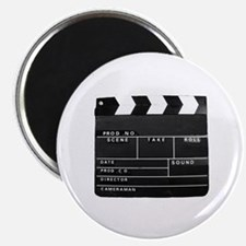 Clapperboard for movie making Magnets