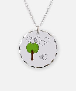 Hide and Sheep Necklace