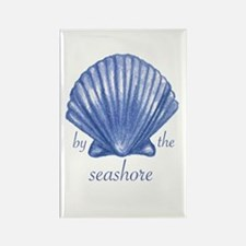 By the Seashore Rectangle Magnet
