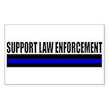 Support Law Enforcement Bumper Stickers