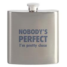 Nobody's perfect...I'm pretty close Flask