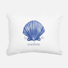 By The Seashore Rectangular Canvas Pillow