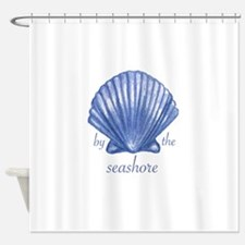 By The Seashore Shower Curtain