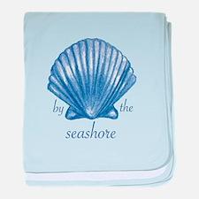 By The Seashore baby blanket