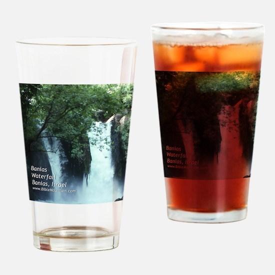 Banias Waterfall Drinking Glass