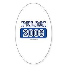 Pelosi 2008 Oval Decal
