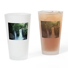 Banias Waterfall Drinking Glass