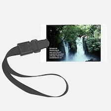 Banias Waterfall Luggage Tag