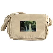 Banias Waterfall Messenger Bag