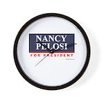 Nancy Pelosi for President Wall Clock