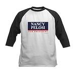 Nancy Pelosi for President Kids Baseball Jersey
