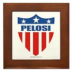 Nancy Pelosi Framed Tile