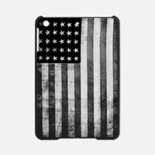 American Vintage Flag Black and Whi iPad Mini Case