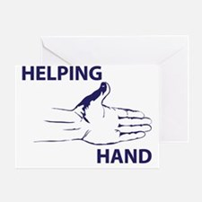 Hand up Greeting Card
