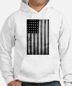 American Vintage Flag Black and Hoodie