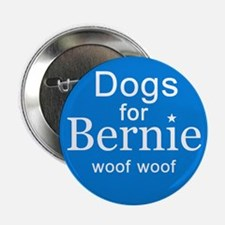 """Dogs For Bernie 2.25"""" Button"""