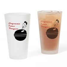 Supreme eater Drinking Glass