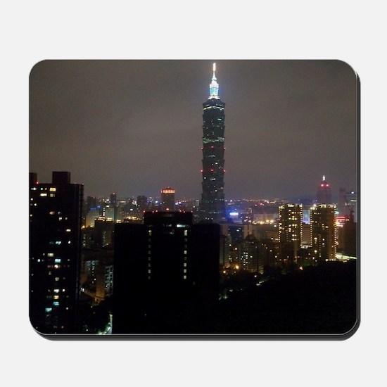 Taipei City Skyline Mousepad