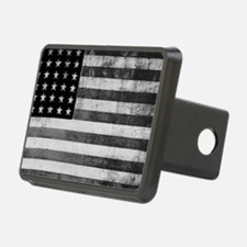 American Vintage Flag Blac Hitch Cover