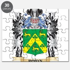 Robyn Coat of Arms - Family Crest Puzzle