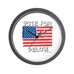 Vote for Pelosi Wall Clock