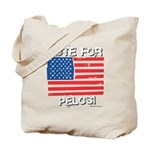 Vote for Pelosi Tote Bag