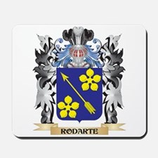 Rodarte Coat of Arms - Family Crest Mousepad