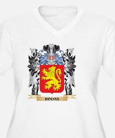 Rodas Coat of Arms - Family Cres Plus Size T-Shirt