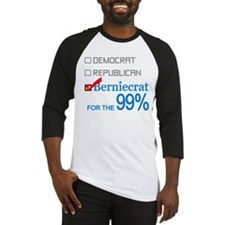 Berniecrat for the 99% Baseball Jersey