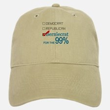 Berniecrat for the 99% Baseball Baseball Cap