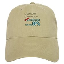 Berniecrat for the 99% Baseball Cap