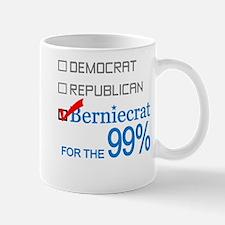 Berniecrat for the 99% Mug