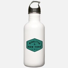 Manhattan New York Cit Water Bottle