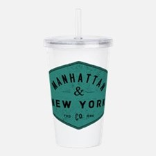 Manhattan New York Cit Acrylic Double-wall Tumbler