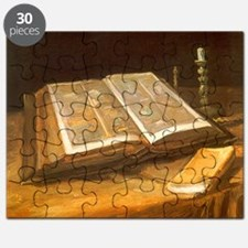 Van Gogh Still Life with Bible Puzzle