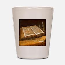 Van Gogh Still Life with Bible Shot Glass