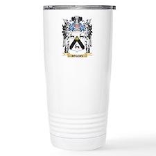 Rogers Coat of Arms - F Travel Mug
