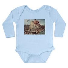 Tower of Babel by Pieter Bruegel Body Suit