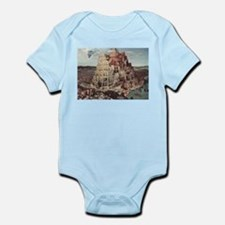 Tower of Babel by Pieter Bruegel Body Suit