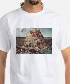 Tower of Babel by Pieter Bruegel T-Shirt