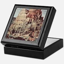 Tower of Babel by Pieter Bruegel Keepsake Box