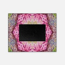 zen pink lotus flower hipster Picture Frame