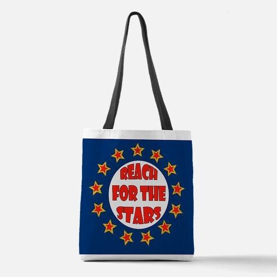 STARS Polyester Tote Bag