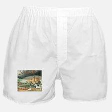 Noah's Ark by Edward Hicks Boxer Shorts