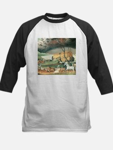 Noah's Ark by Edward Hicks Baseball Jersey