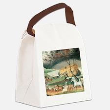 Noah's Ark by Edward Hicks Canvas Lunch Bag
