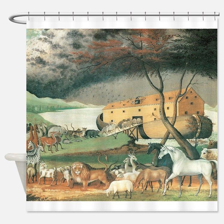 Noah's Ark by Edward Hicks Shower Curtain