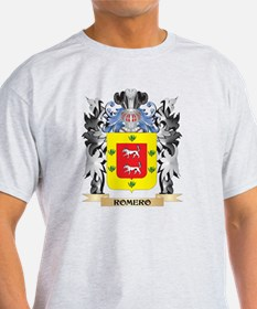 Romero Coat of Arms - Family Crest T-Shirt